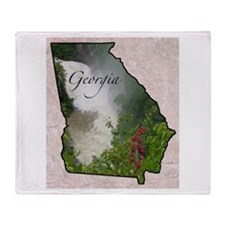 Cute Georgia Throw Blanket