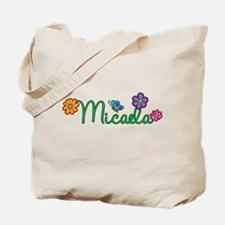 Micaela Flowers Tote Bag