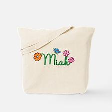 Miah Flowers Tote Bag