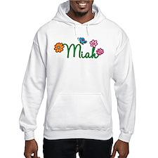 Miah Flowers Hoodie Sweatshirt