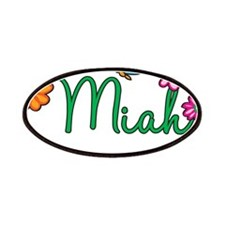 Miah Flowers Patches