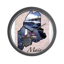 Cute States Wall Clock