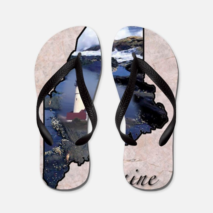 Cute Maine Flip Flops