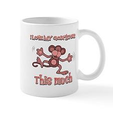 I love my God father this much Mug
