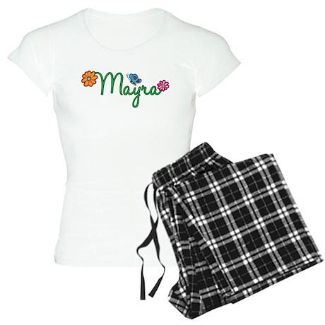 Mayra Flowers Women's Light Pajamas