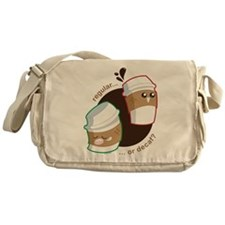 Not Without My Coffee! Messenger Bag