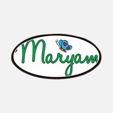 Maryam Flowers Patches