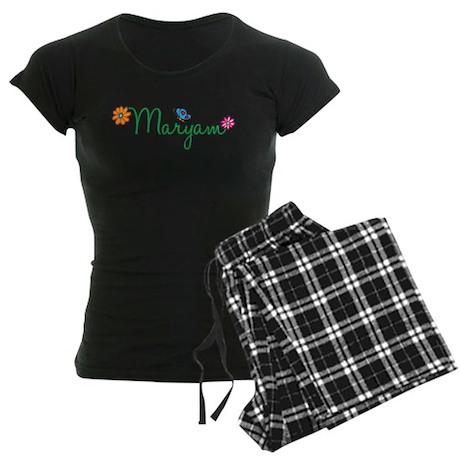 Maryam Flowers Women's Dark Pajamas