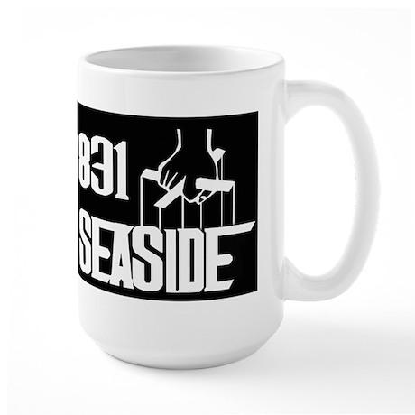 Seaside -- T-Shirt Large Mug