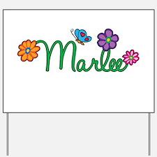 Marlee Flowers Yard Sign