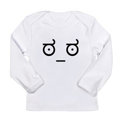 Look of Disapproval Long Sleeve Infant T-Shirt