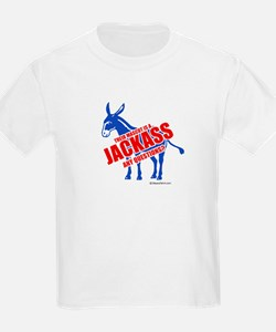Jackass, any questions? -  Kids T-Shirt