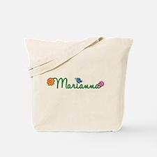 Marianna Flowers Tote Bag