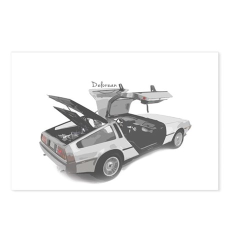 Delorean Postcards (Package of 8)