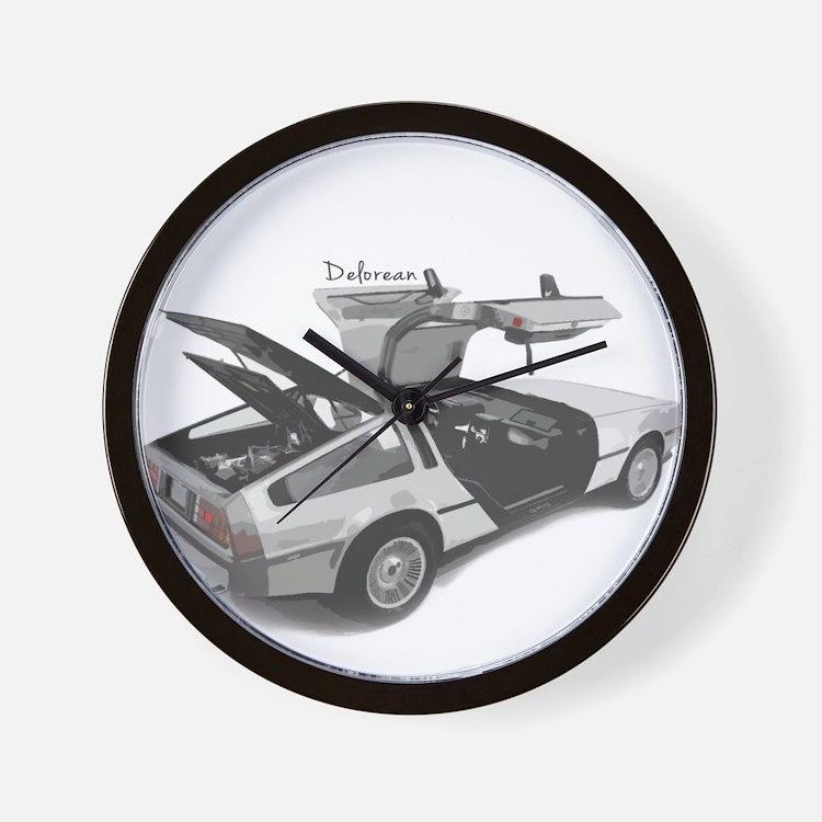 Delorean Wall Clock