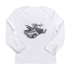 Delorean Long Sleeve Infant T-Shirt