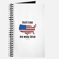 Just say no way Jose - Journal