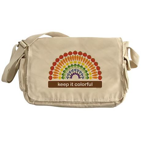 Keep It Colorful Messenger Bag