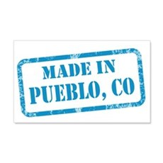 MADE IN PUEBLO 22x14 Wall Peel