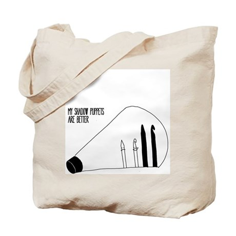 Shawow Puppets Tote Bag