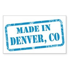MADE IN DENVER Decal