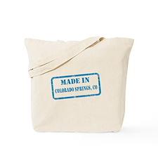 MADE IN COLORADO SPRINGS Tote Bag