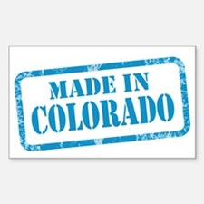 MADE IN COLORADO Decal