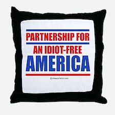 Partnership for an idiot-free America -  Throw Pil