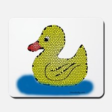 Stained Glass Duck Mousepad
