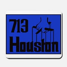Houston,Tx -- T-Shirt Mousepad