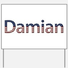 Damian Stars and Stripes Yard Sign