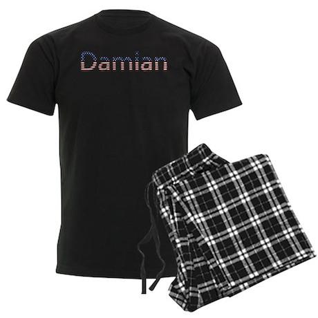 Damian Stars and Stripes Men's Dark Pajamas