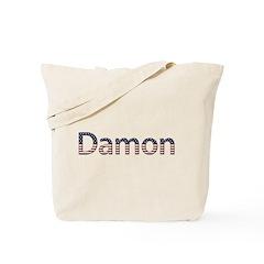 Damon Stars and Stripes Tote Bag