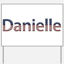Danielle Stars and Stripes Yard Sign