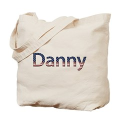 Danny Stars and Stripes Tote Bag
