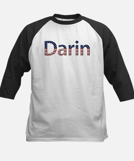 Darin Stars and Stripes Kids Baseball Jersey
