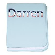 Darren Stars and Stripes baby blanket