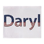 Daryl Stars and Stripes Throw Blanket