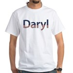 Daryl Stars and Stripes White T-Shirt