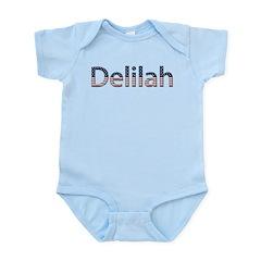 Delilah Stars and Stripes Infant Bodysuit