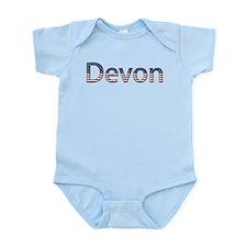 Devon Stars and Stripes Infant Bodysuit