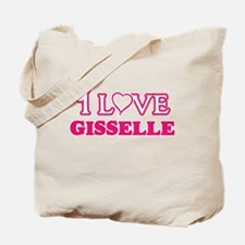 I Love Gisselle Tote Bag