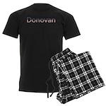Donovan Stars and Stripes Men's Dark Pajamas