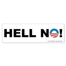 Hell No Obama, Bumper Sticker