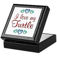 Love My Turtle Keepsake Box