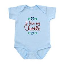 Love My Turtle Infant Bodysuit