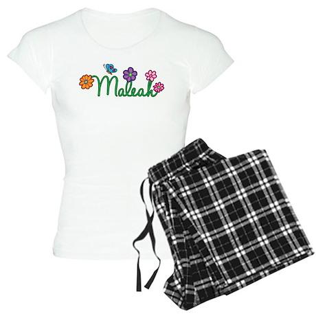 Maleah Flowers Women's Light Pajamas