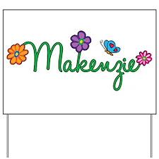Makenzie Flowers Yard Sign