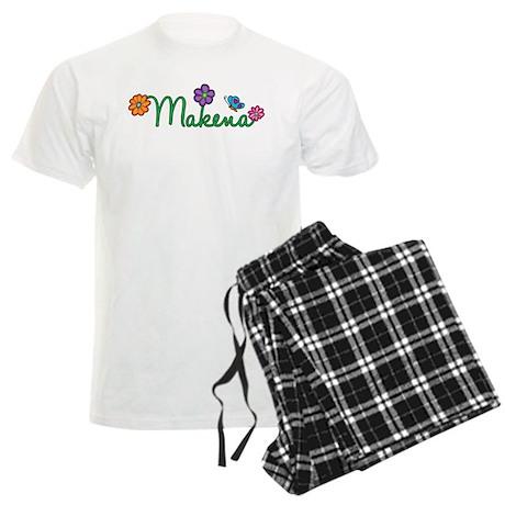 Makena Flowers Men's Light Pajamas