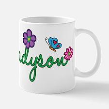 Madyson Flowers Mug